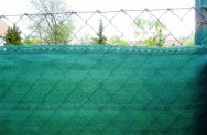 Árnyékoló háló GOLDTEX230 1x10m zöld 95%/6kart.