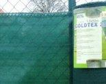 Árnyékoló háló GOLDTEX230 2x10m zöld 95%/6kart.