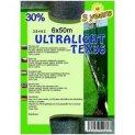 Árnyékoló háló ULTRALIGHTTEX36 6x50m zöld 30%