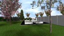 3D Kerttervezés 400 m2 felett